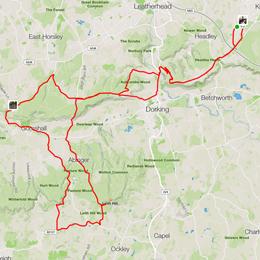 The Surrey Seven Ride